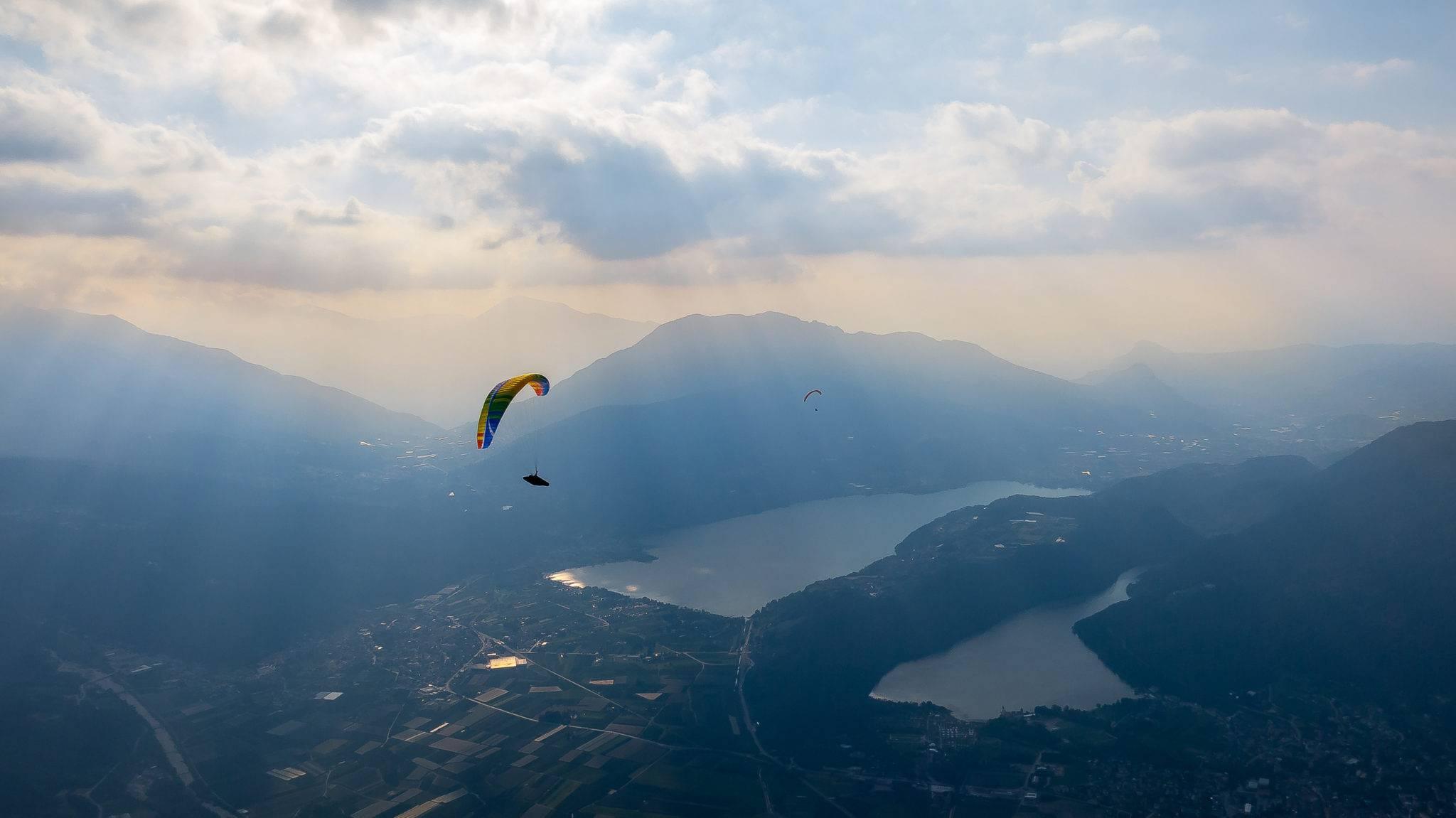 Volo libero Trentino a Levico Terme in Trentino