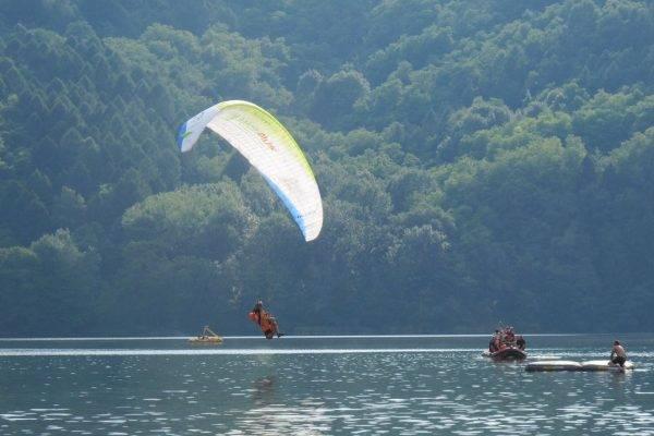 Paragliding: