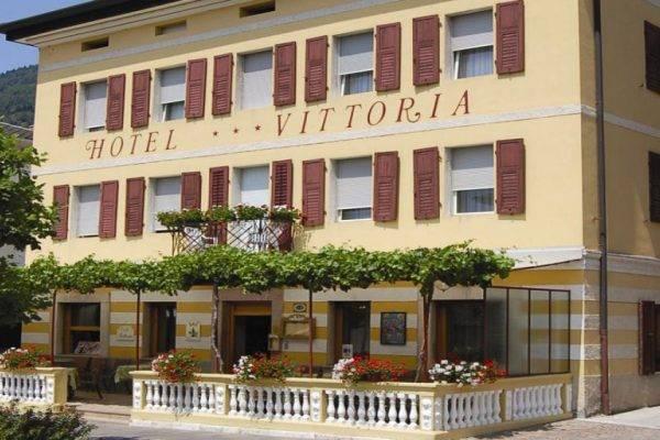 Hotel Vittoria in centro a Levico Terme in Trentino