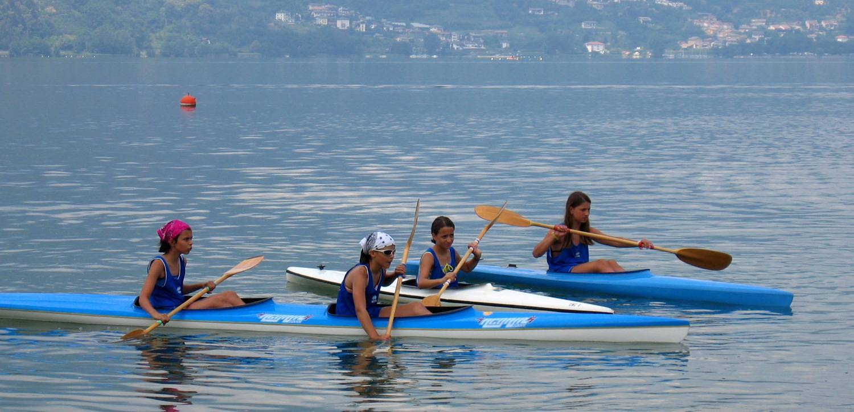 Levico Terme - estate in canoa e tante altre attività sportive!