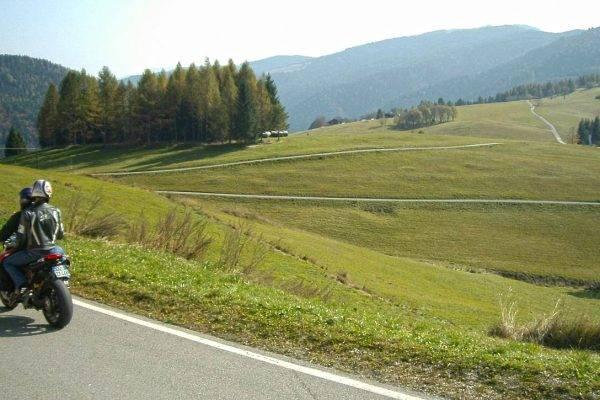 Trentino: Levico Terme in moto