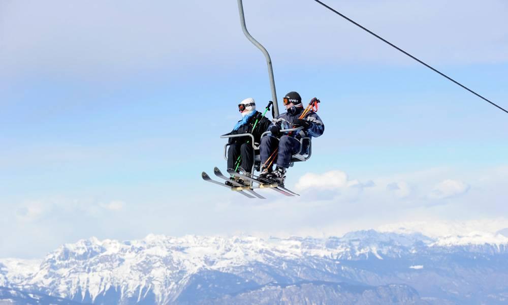 piste da sci Trentino