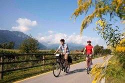 Entdecken Sie die vielfältigen Radwege in der Valsugana