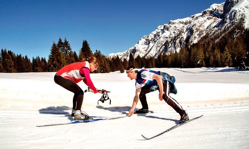 Corso di sci di fondo in Trentino