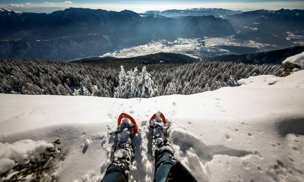 Ciaspolare in Trentino