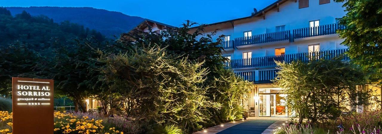 Hotel al Sorriso a Levico Terme in Trentino