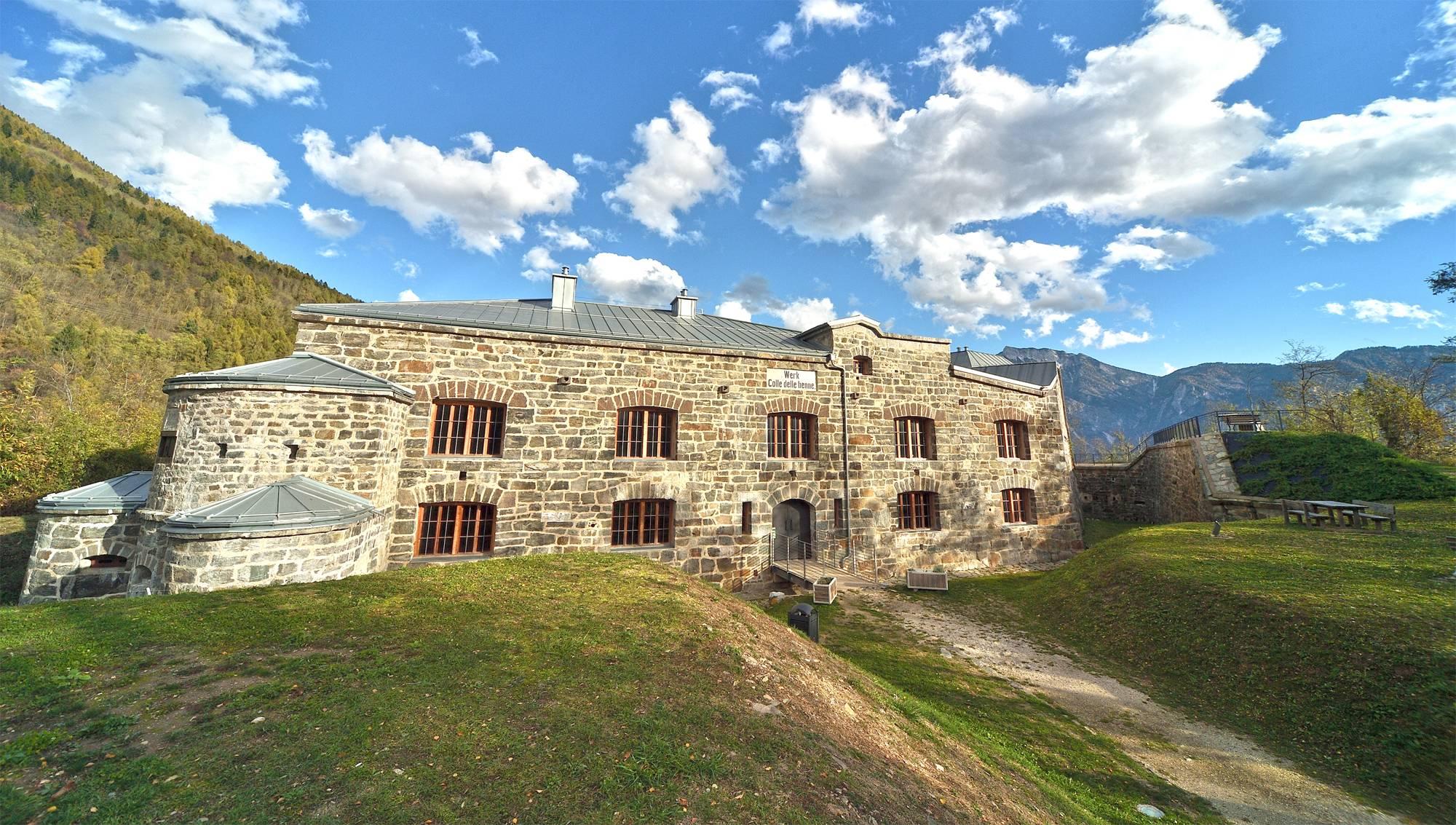 Forte delle Benne in Trentino