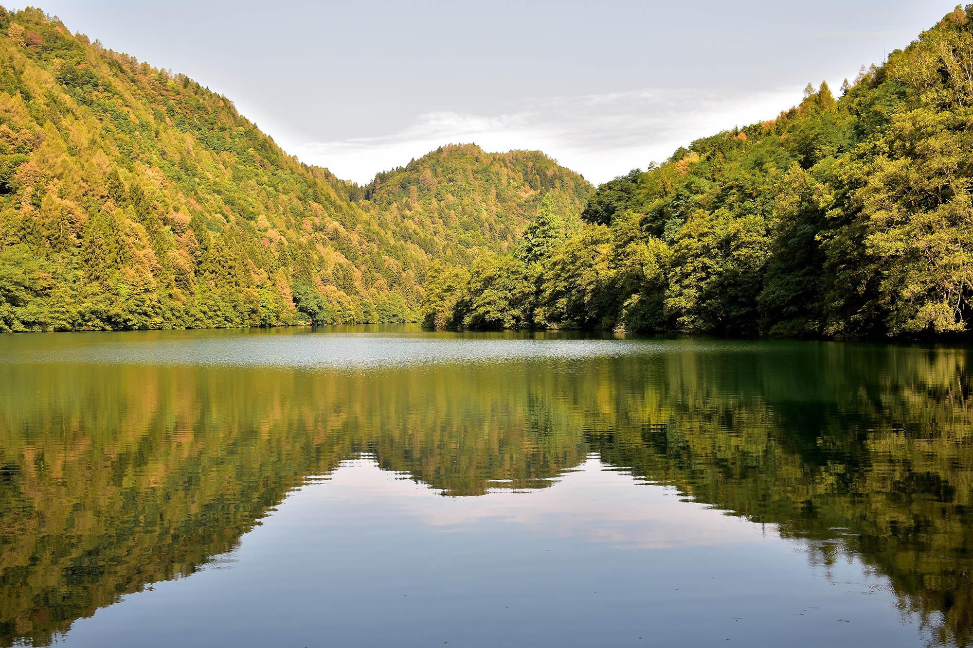 Lago di Levico: stupendo in ogni stagione