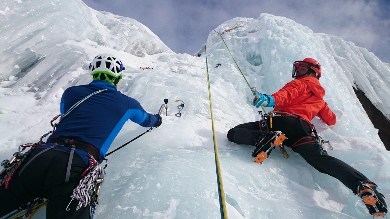 Arrampicata su ghiaccio Trentino